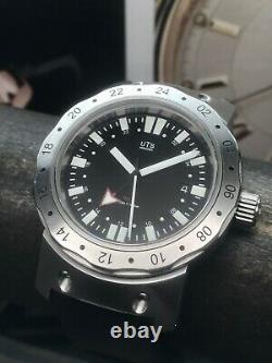 Uts Munchen Gmt Limited Edition Diver 200 Pieces Suisse Eta 2893 Automatique