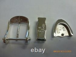 Very Nice James Reid Ltd Santa Fe Sterling Silver 3 Piece Belt Buckle Set