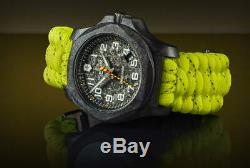 Victorinox Swiss Army Carbone Inox Rescue Edition Limitée 1200 Pièces Paracord