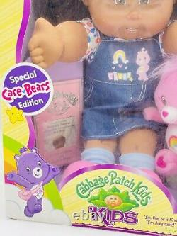 Vintage Cabbage Patch Aa Girl Care Bears Limited Edition Nouveau