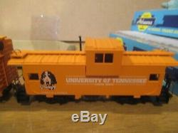 Vintage Tennessee Volunteers 3 Piece 1998 Nc Die Cast Big Orange Train Express