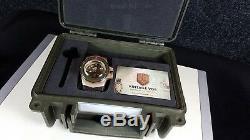 Vintage Vdb VIII Bronze Handmade Ltd 1 Pièce Unique Allemagne Top Navire Dans Le Monde Entier