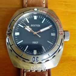 Vostok 1967 Bronze Edition Limitée 300 Pièces Diver 200m Amphibia