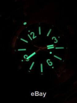 Vostok Amphibia 1967 Visage Vert Diver Montre Rare 200m Edition Limitée De 500 Pièces