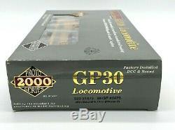 Walthers Proto 2000 Santa Fe Bnsf Patch Gp30 # 2470 Avec DCC Son Échelle Ho