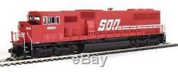 Walthers-emd Sd60m Avec Pare-brise 3 Pièces Esu (r) Sound & DCC - Ligne Soo 6061