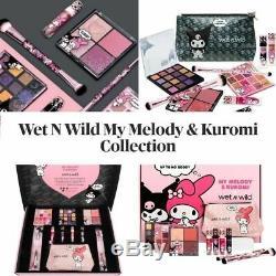 Wet N Wild My Melody Et Kuromi Collection Complète 10 Boîte Piece, Édition Limitée