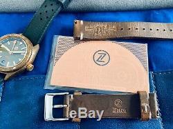 Zelos Horizons Gmt Bronze Et Slate. Ensemble Complet. (édition Limitée De 100 Pièces)