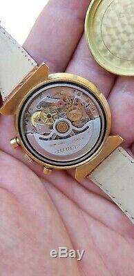 Zenith El Primero G383 Chronographe Vintage 200 Pièces Édition Limitée Poker Chip