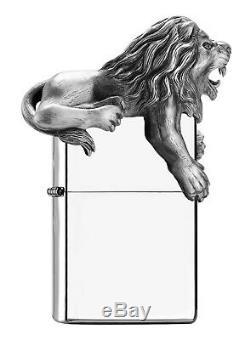 Zippo Death Roaring Lion Édition Limitée Plus Léger 2500 Pièces Dans Le Monde Entier
