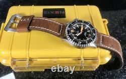 Zixen Nitrox Vintage Limited Edition 300 Pièces 500m Plongeur Suisse Automatique 44mm